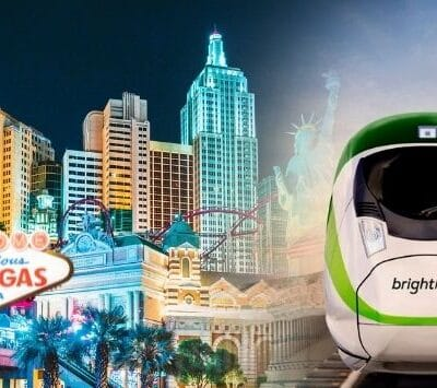 Las Vegas Site Reserved for a Casino Will Be Used for High-Speed Train Station